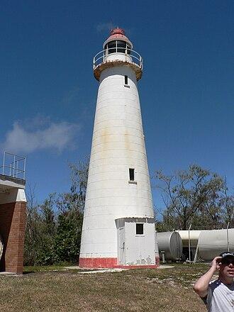 Lady Elliot Island Light - The old Lady Elliot Island lighthouse