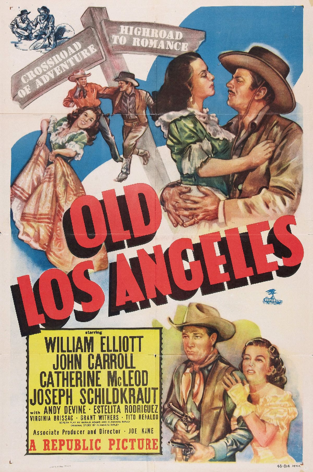 Old Los Angeles Wikipedia - Los angeles posters vintage