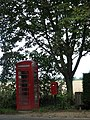 Old Telephone and postbox at The Heath - geograph.org.uk - 556232.jpg