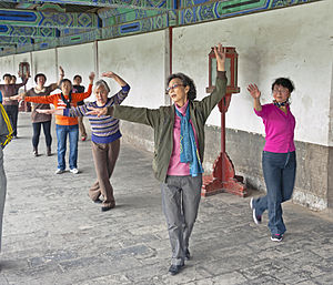 Square dancing (China)