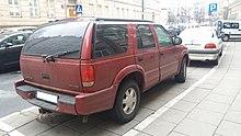 oldsmobile bravada rear