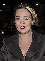 Photo of Olivia Colman in 2014.