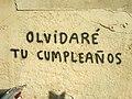 Olvidaré tu cumpleaños graffiti.jpg