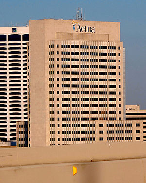 Aetna Building - Image: One Prudential Plaza Jacksonville Feb 2010