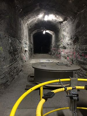 Blue Ribbon Commission on America's Nuclear Future - Demonstration tunnel in Olkiluoto.
