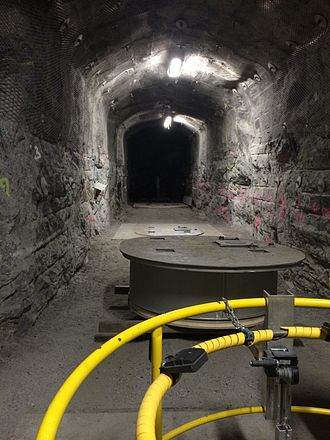 Deep geological repository - Demonstration tunnel in Olkiluoto.