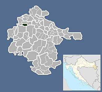 Jarmina - Image: Općina Jarmina