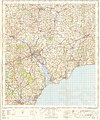 Ordnance Survey One-Inch Sheet 176 Exeter, Published 1967.jpg