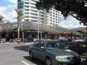 Orewa - Shops in Orewa town centre