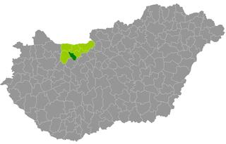 Oroszlány District Districts of Hungary in Komárom-Esztergom