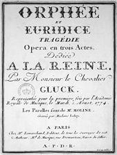 Resultado de imagen para opera Eurydice