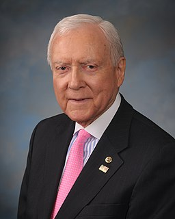 Orrin Hatch Former United States Senator from Utah