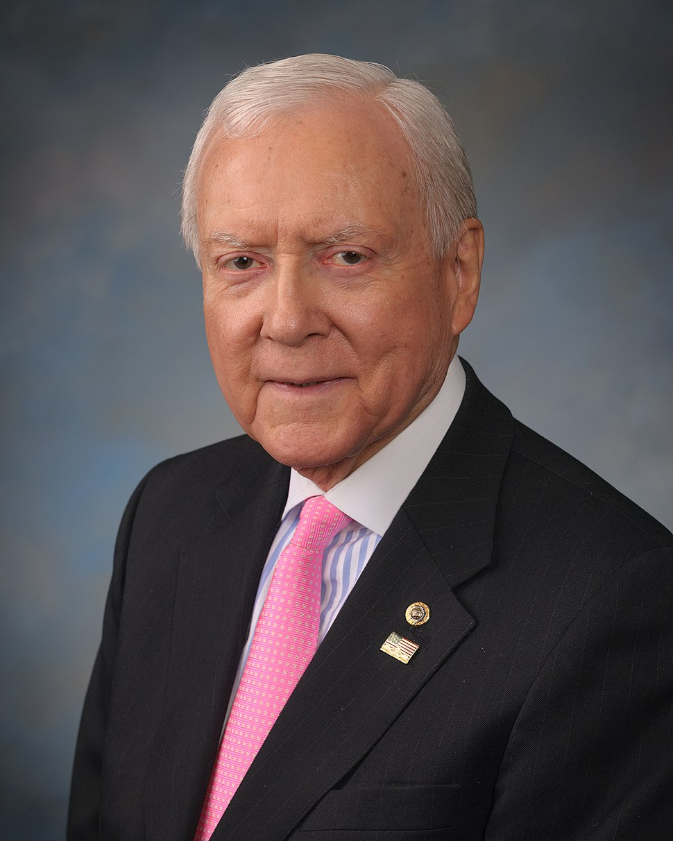 Orrin Hatch official photo, 2015