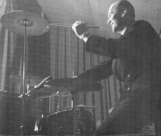 1945 in jazz - Finnish drummer Ossi Aalto