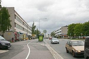 Oulunkylä - Street in Oulunkylä (Siltavoudintie)