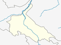 Outline map of Untsukulsky District (with position on the map of Dagestan).png