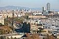 Overlooking the Port in Barcelona (4202794413).jpg