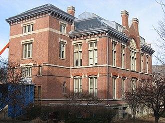 Richard Owen (geologist) - Owen Hall, Indiana University