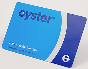 Oyster card - Image: Oystercard