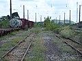 Pátio da Estação Engenheiro Acrísio em Mairinque - Variante Boa Vista-Guaianã km 166 - panoramio (2).jpg