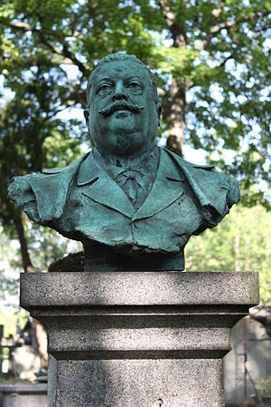 Jules Danbé - Bust of Jules Danbé by Georges Récipon.