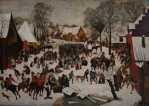Massacre of the Innocents (Bruegel) - Image: P. Brueghel II De kindermoord