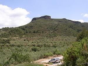 Serra d'Espadà - Image: P Matorramos Vall Almonacid