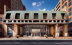 Pittsburgh Public Theater -  The O'Reilly Theater, with a 650-seat auditorium, has been home to Pittsburgh Public Theater since its opening on December 11, 1999.