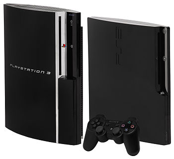 Original model, DualShock 3 controller and Slim model