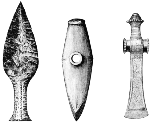 PSM V55 D042 Flint and bronze weapons.png
