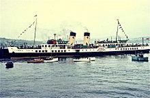 Pleasure steamer history