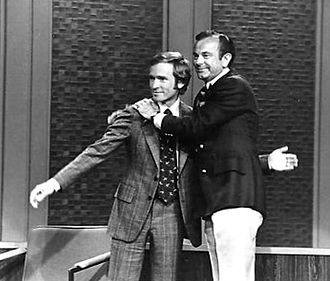Jack Paar - Paar appears on Dick Cavett's show to announce his return to television in January 1973.