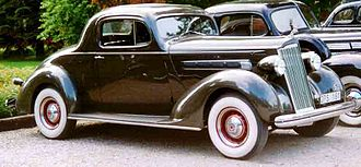 Packard One-Twenty - Image: Packard 120 Eight Business Coupe 1936