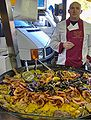 Paella, Wednesday market, Salon-de-Provence.JPG