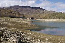 Tipico paesaggio dell'Abruzzo aquilano