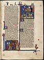 Page from the Arthurian Romances illuminated manuscript.jpg