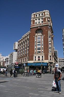 Palacio de la Prensa - Plaza de Callao -Madrid.jpg