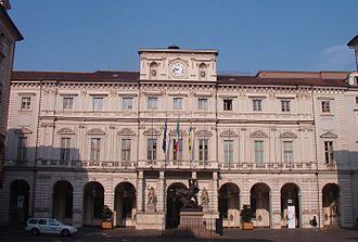 Palatine Towers - Palazzo di Città, the City Hall of Turin