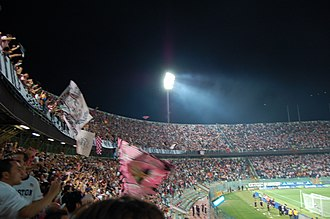 Stadio Renzo Barbera - Public at stadio Renzo Barbera, Palermo during a league game