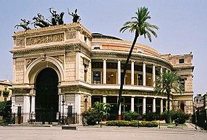 Teatro Politeama, Palermo - Exterior of the Teatro Politeama