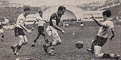 b6bf4a7329166 Decisão da Taça Cidade de São Paulo entre Palestra Itália e Corinthians  realizada no Estádio do Pacaembu em 1940