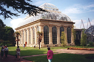 Inverleith - The Palm House in the Royal Botanic Gardens