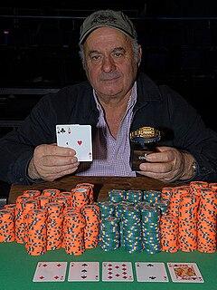Peter Vilandos Greek-American poker player