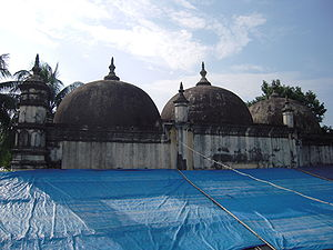 Dhubri district - Historic Panbari Mosque at Dhubri