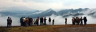 Patkai Mountains seen from the Pangsau Pass