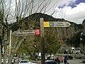 Panneaux de randonnées passants par Sallent de Gállego.jpg