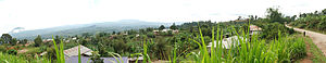 Tukuyu - Panorama taken in Tukuyu