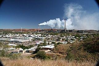 Mount Isa City in Queensland, Australia