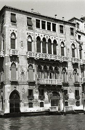Palazzi Barbaro, Venice - Image: Paolo Monti Serie fotografica (Venezia, 1969) BEIC 6331406