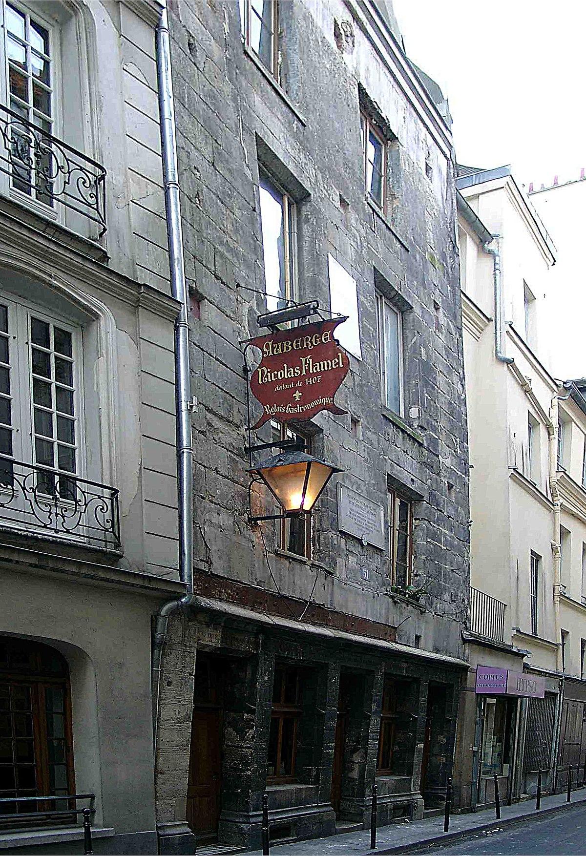 Maison de nicolas flamel wikip dia for Maison nicolas